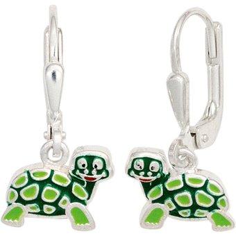 JOBO Paar Ohrhänger Schildkröte