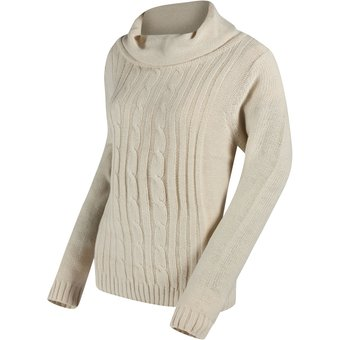 Regatta Strickpullover Great Outdoors Damen Karlee Zopfmuster Sweater