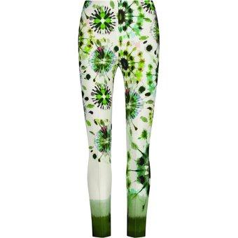 Nicowa Schmale Hose INIDE mit modischem Batik-Design