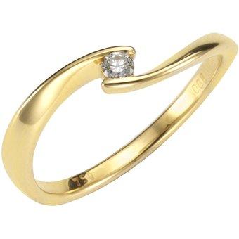 Orolino Ring 750 Gelbgold Brillant