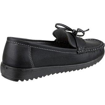 Amblers Safety Loafer Elba Damen Sommerschuhe  Slipper Mokassins