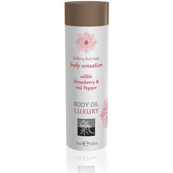 Shiatsu Massageöl Body Oil Erdbeere 75 Massage
