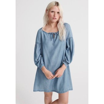 Superdry Off-Shoulder-Kleid ARIZONA PEEK A BOO DRESS