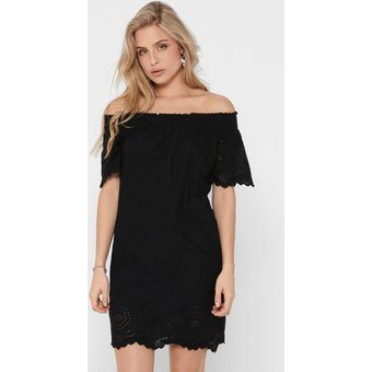 Only Off-Shoulder-Kleid ONLNEW SHERY
