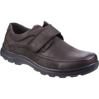 Fleet Foster Klettschuh Herren Hurghada Leder Schuhe