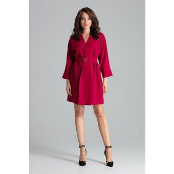 LENITIF Kleid im Mantel-Stil L058
