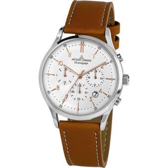 Jacques Lemans Chronograph Retro Classic, 1-2068P