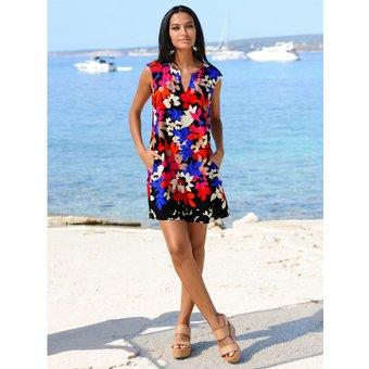 Alba Moda Strandkleid in moderner Farbkombination