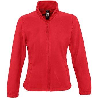 SOLS Fleecejacke Damen North Fleece-Jacke mit durchgehendem Reissverschluss