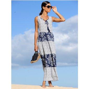 Alba Moda Strandkleid mit Stufenrock