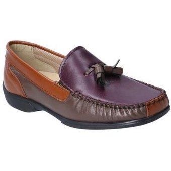 Cotswold Loafer Damen Biddlestone Leder Slip On Schuh