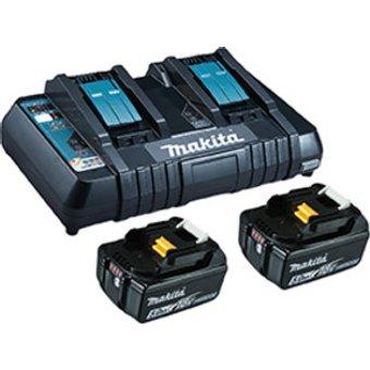 Makita Power Source Kit Li 18,0V 5Ah inkl. Doppelladegerät