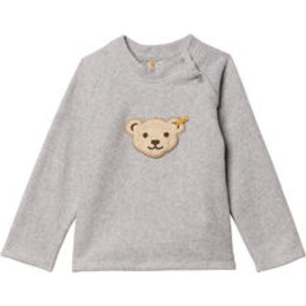 Steiff Mädchen und Jungen Baby und Kinder Fleece-Sweatshirt Langarm