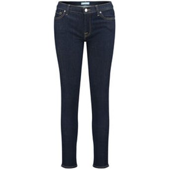 7 For All Mankind Damen Jeans Skinny Fit Verkürzt