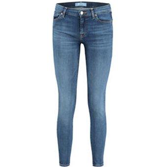 7 For All Mankind Damen Jeans Skinny Fit 7 8-Länge