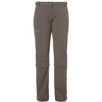 Vaude Damen Outdoorhose Wo Farley Stretch Capri T-Zip II