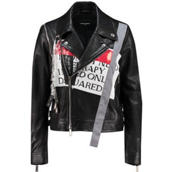 Dsquared2 Damen Lederjacke