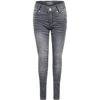 Blue Effect Jeans, slim, ultrastretch, für Mädchen, DARK GREY, 152, 152