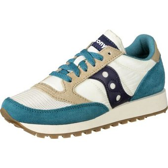 Saucony Schuhe Jazz Original Vintage W, blue white tan, 36.0