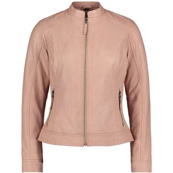 Cartoon Lederjacke, Reissverschluss, für Damen, 4012 SHEER PINK, 36, rosa, 36