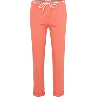Marc O Polo Denim Chino-Hose, uni, Stretch, für Damen, orange, 26, 26