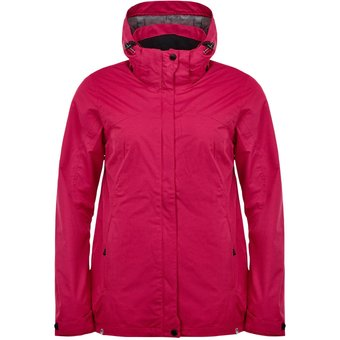 Killtec Inkele Outdoorjacke wasserdicht Damen bordeaux