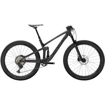 Trek Top Fuel 9.8 XT Matte Raw Carbon/Voodoo Trek Black M