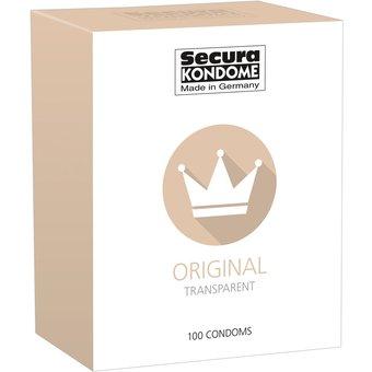Kondome Secura Original , transparent, feucht beschichtet