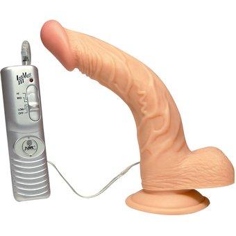 "NMC Naturvibrator Curved Ecstasy"", 19 cm, mit Saugfuss"