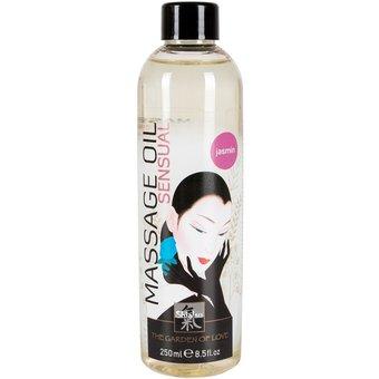 "HOT Shiatsu Massageöl Sensual"" mit Jasmin-Aroma"