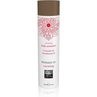 "HOT Shiatsu Massageöl Warming Coriander"", 100 ml"