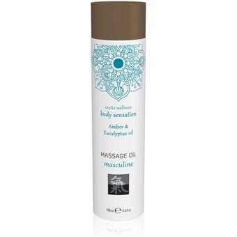 "HOT Shiatsu Massageöl Masculine Amber"", 100 ml"