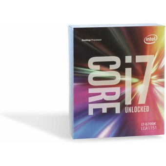 CPU Intel Core i7-6700K, 4GHz, 8MB