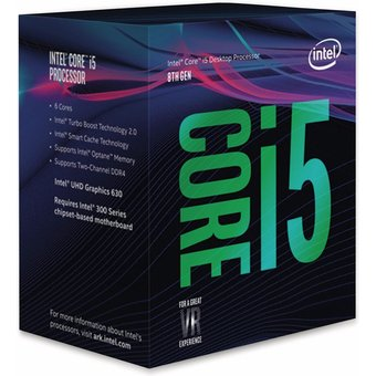 CPU INTEL Core i5-8400, 6x 2,8 GHz, LGA1151