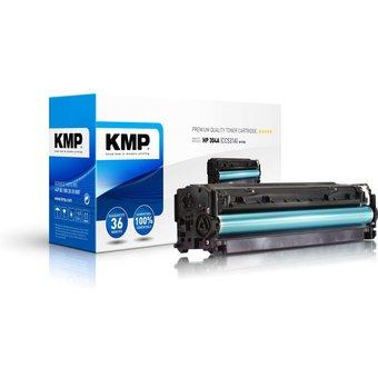 Toner KMP, kompatibel für HP 304A CC531A , cyan