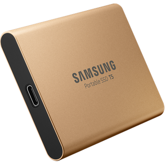 Samsung Portable SSD T5 Gold 500GB