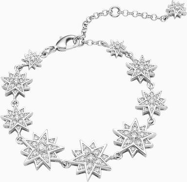 Penélope Cruz Moonsun Armband, Limitierte Ausgabe, weiss, Rhodiniert