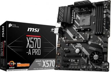 MSI X570-A Pro ATX Mainboard Sockel AM4 M.2/USB3.2/HDMI