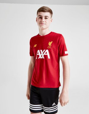 New Balance Liverpool FC Pre Match Shirt Kinder - Rot - Kids, Rot