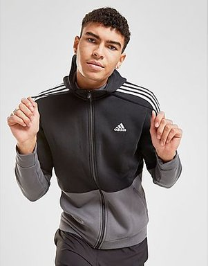 adidas Essential Hoodie Herren - Only at JD - Black/Grey/White, Black/Grey/White
