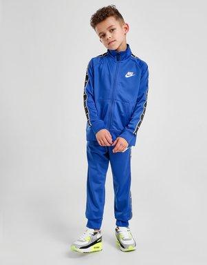 Nike Swoosh Tape Trainingsanzug Kleinkinder - Only at JD - Blau - Kids, Blau