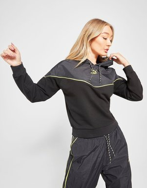 PUMA Trail Hoodie Damen - Only at JD - Schwarz - Womens, Schwarz
