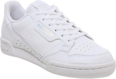 adidas Continental 80's Jnr WHITE IRIDESCENT,Weiß