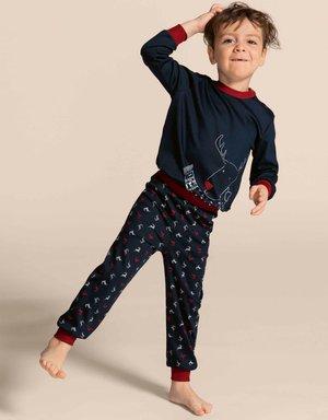 CALIDA Family & Friends Kinder Bündchen-Pyjama