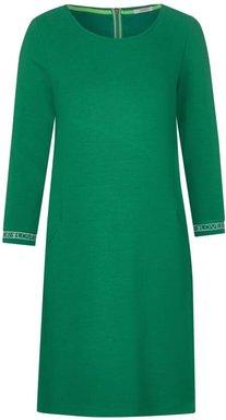 Jersey Kleid mit Struktur