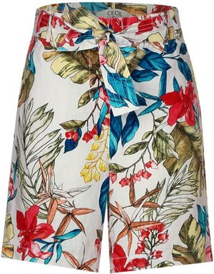 Leinen-Shorts im Loose Fit