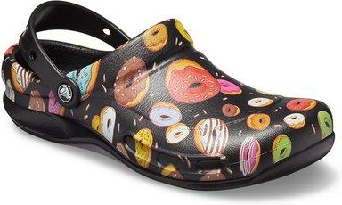 Crocs Bistro Graphic Clogs Unisex Black / Multi Donuts