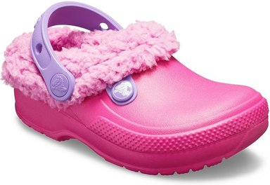 Crocs Classic Blitzen III Lined Clogs Kinder Candy Pink / Party Pink