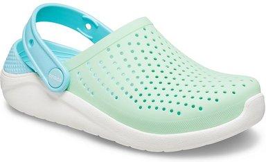 Crocs LiteRide™ Clogs Kinder Neo Mint / White