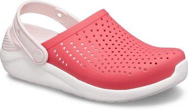 Crocs LiteRide™ Clogs Kinder Poppy / White